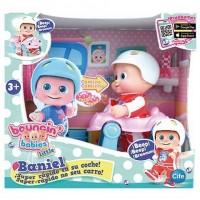 Bouncin Babies Mászkáló nevető Bounie baba