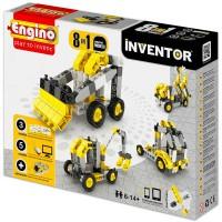 Engino Inventor 8in1 Építőjáték - Ipari járművek