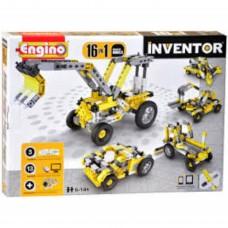 Engino Inventor 16 az 1-ben építőjáték - Ipari járművek