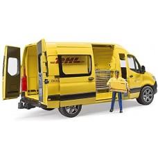 Bruder MB Sprinter DHL vezetővel  autó