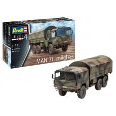 Rewell Műanyag ModelKit katonai  MAN 7t Milgl (1:35)