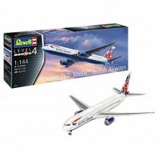 Rewell  Műanyag Modelkit repülőgép  - Boeing 767-300ER (British Airways Chelsea Rose) (1: 144)