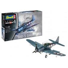 Rewell  Műanyag ModelKit repülőgép- SBD -5 Dauntless Navyfighter (1:48)