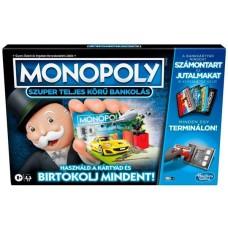 Monopoly: Szuper teljes körű bankolás társasjáték
