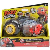 Tomy: Ricky Zoom tekerős kilövő figurával - Ricky