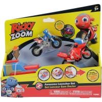 Tomy: Ricky Zoom kilövő készlet 2 db kismotorral