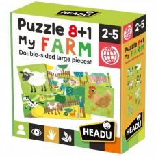 Headu 8+1 az én farmom puzzle