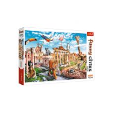 Trefl- Vicces városok - Vad Róma - puzzle