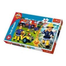 Trefl- Sam, a tűzoltó - 24 db-os Maxi puzzle