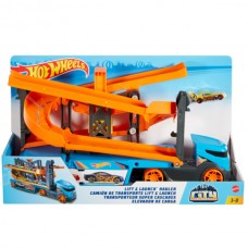 Hot Wheels: kamion spirálemelővel