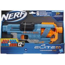 Nerf: Elite 2.0 Commander RD-6 szivacskilövő puska
