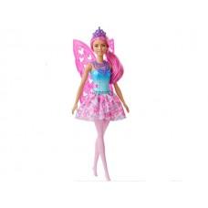 Barbie Dreamtopia: Tündér baba rózsaszín hajjal, levehető szárnnyal