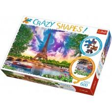Trefl Crazy Shapes - Az égbolt Párizs felett  puzzle