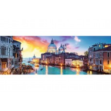 Trefl  Panoráma puzzle  Canal Grande, Velence  1000 db-os puzzle
