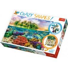 Trefl Őrült formák Trópusi sziget puzzle