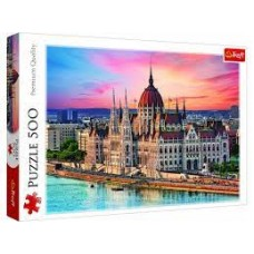 Trefl Budapest - 500 db-os puzzle