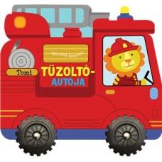 Gördülő könyvek - Tomi tűzoltóautója gyerekkönyv
