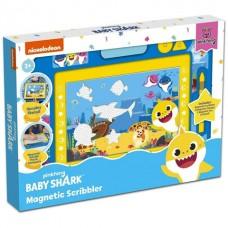 Baby Shark-Mágneses rajztábla közepes