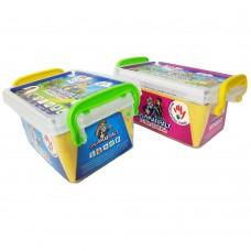 6 színű gyurmakészlet dobozban