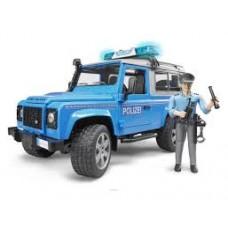 Bruder Land Rover Power Defender Rendőrautó