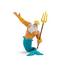 Bullyland A kis hableány Triton király játékfigura