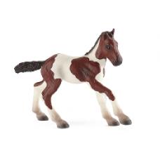 Bullyland Paint Horse csikó  játékfigura
