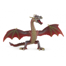 Bullyland,  Repülő sárkány, vörös-barna játékfigura