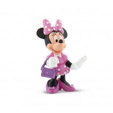 Bullyland  Mickey egér játszótere: Minnie táskával játékfigura