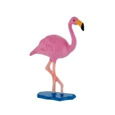 Bullyland  Rózsás flamingó játékfigura