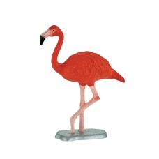 Bullyland  Vörös flamingó játékfigura