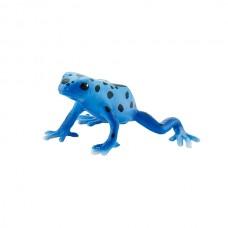 Bullyland Kék nyílméregbéka játékfigura
