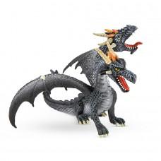 Bullyland Kétfejű sárkány játékfigura