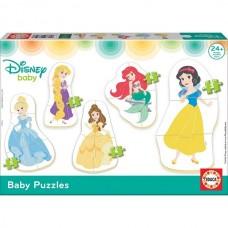 Educa Baby puzzle Disney hercegnők 5az 1-ben