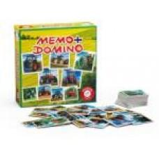 Memo/Domino Traktorok társasjáték