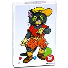 Fekete Péter állatos kártyajáték