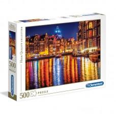 Clementoni puzzle Amszterdam 500db
