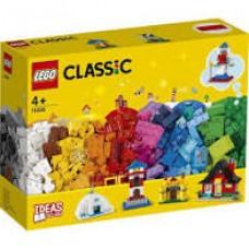 Lego classic kockák és házak