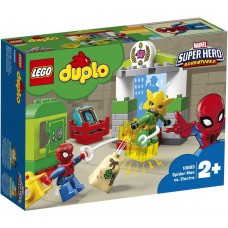 Lego duplo Pókember Electro ellen