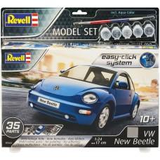 Revell Easy-Click Volkswagen új bogár modellkészlet