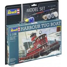 Revell 65207 Harbour Tug Boat Model Szett